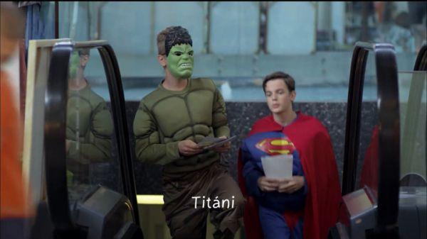 Superhrdinovia - diel Titáni